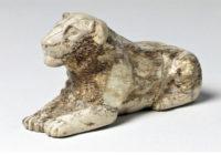 Фигурка львицы для игры мехен. I династия (2950 г. до н. э.)